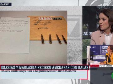 """Al rojo vivo (23-04-21) La condena de Reyes Maroto a las amenazas a Iglesias y Marlaska: """"El discurso del odio tiene consecuencias"""""""