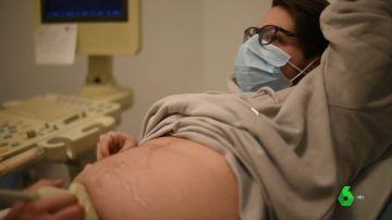 Rubén Castro, hombre embarazado