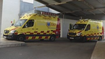 Imagen de archivo de ambulancias