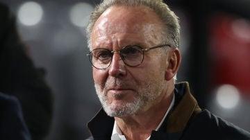 Rummenigge, director ejecutivo del Bayern Múnich