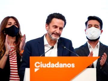 La debacle de Ciudadanos arrasa con todos sus escaños y deja a los 'naranjas' fuera de la Asamblea de Madrid
