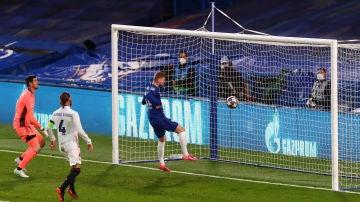 Gol de Timo Werner ante el Madrid