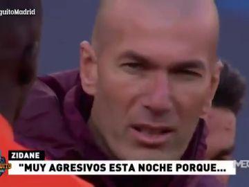 """Discurso de Zidane antes antes de jugador contra el Chelsea: """"El Real Madrid siempre es y ha sido esto"""""""