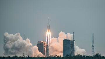 Lanzamiento de un cohete chino, realizado con éxito, el pasado 29 de abril