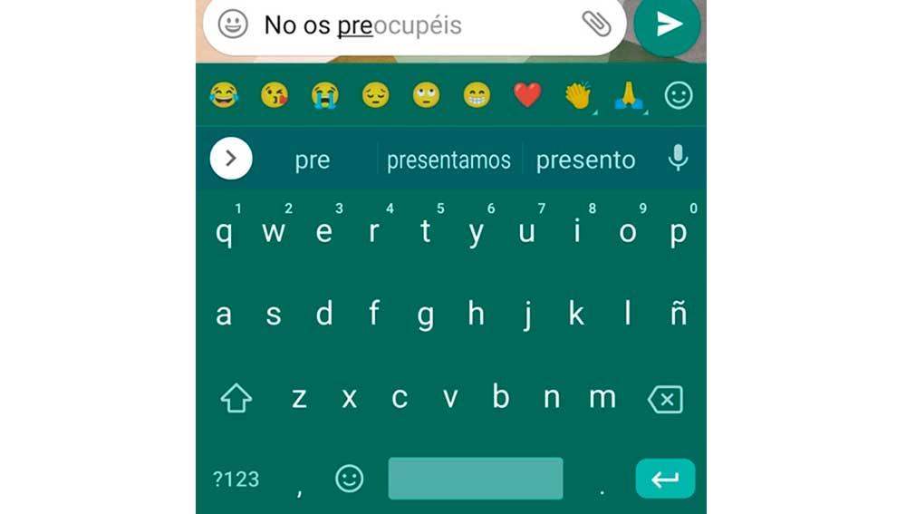 Nuevas funciones del teclado de Google