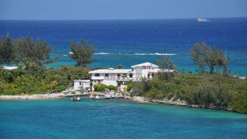 Imagen recurso de una isla en las Bahamas