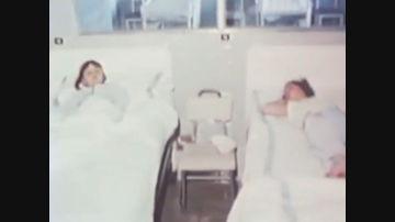 Imagen de archivo de menores hospitalizadas