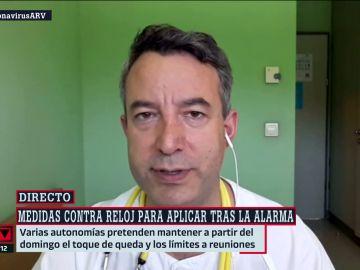 César Carballo, en Al Rojo Vivo