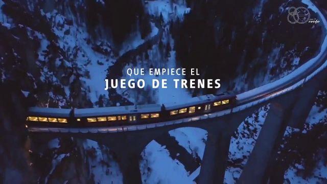 """Renfe reta a Ouigo en un épico anuncio: """"Que empiece el juego de trenes"""""""