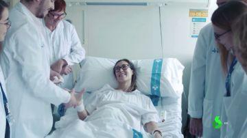 Marta, paciente con cáncer de ovario avanzado
