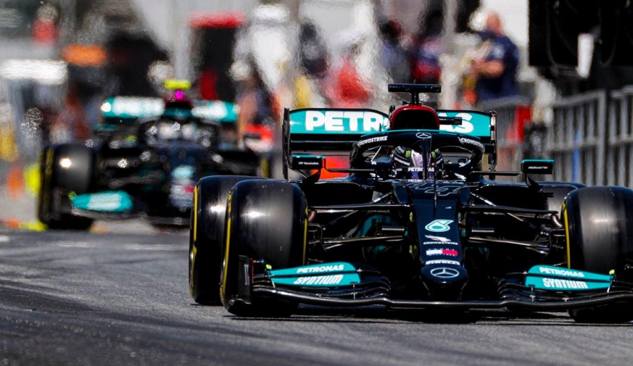 Lewis Hamilton logró su 100ª Pole