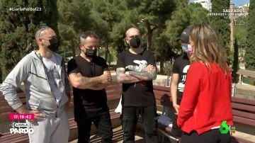 Familia de Xavi, fallecido en Barcelona