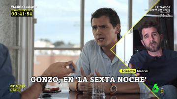 Gonzo explica qué comparten las dimisiones de Pablo Iglesias y Albert Rivera