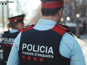 Imagen de archivo de agentes de los Mossos d'Esquadra
