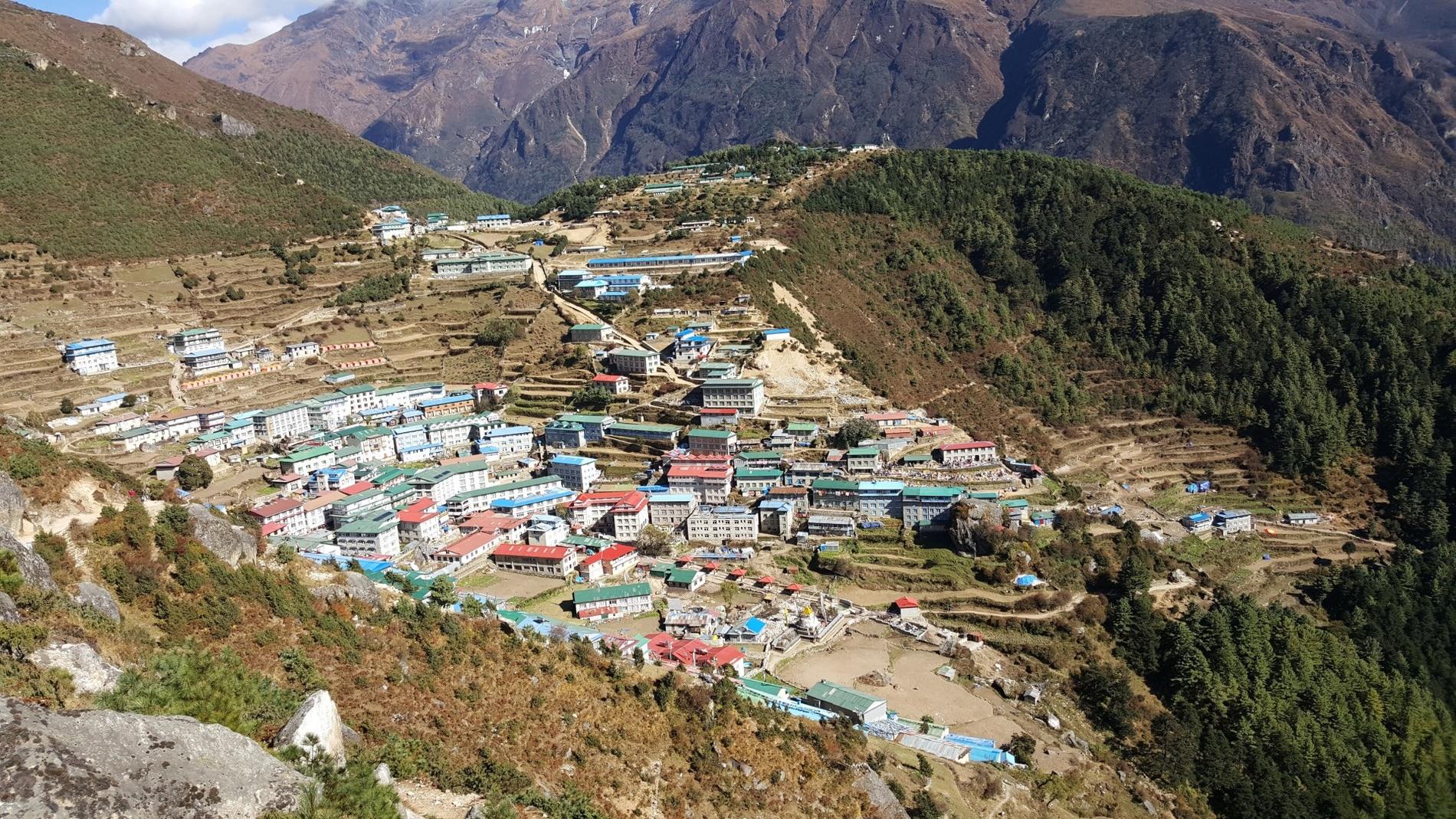 nepal himalaya aldea