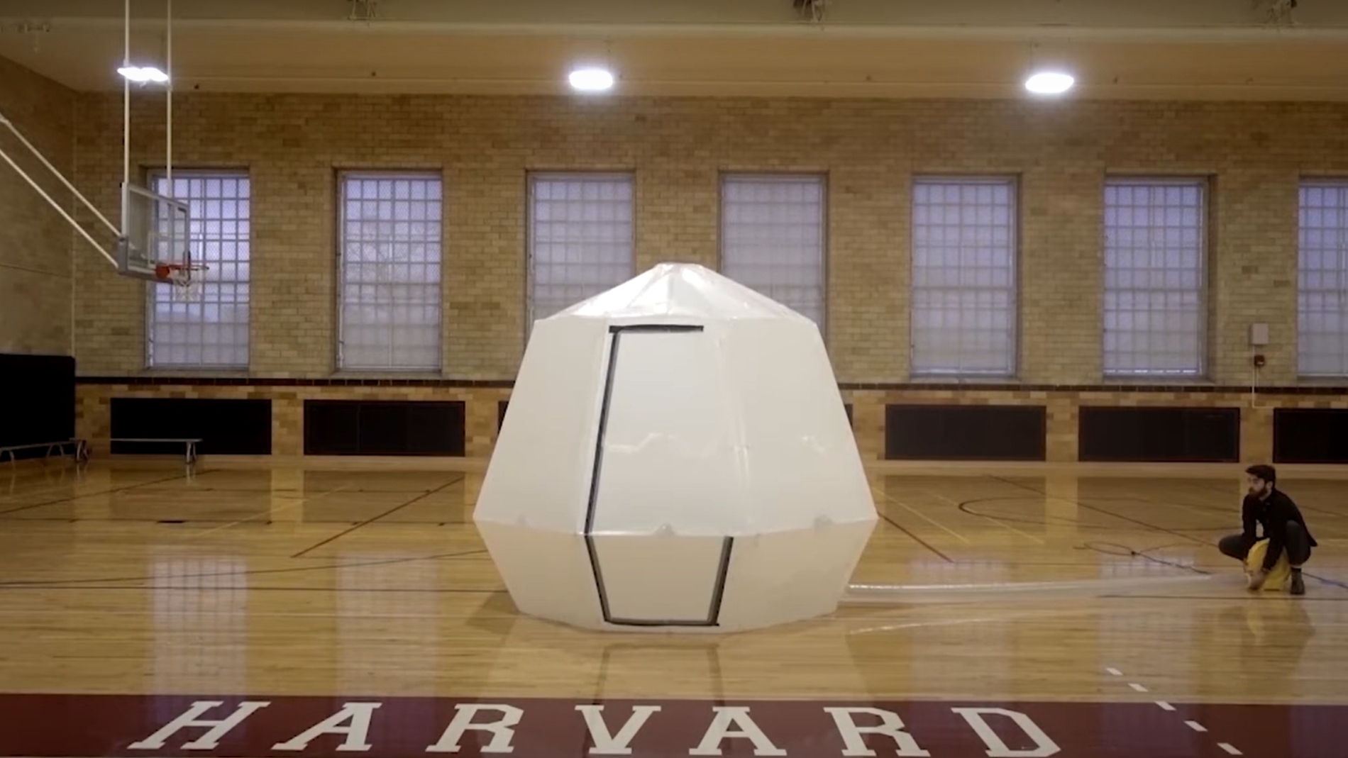 origami estructura refugio