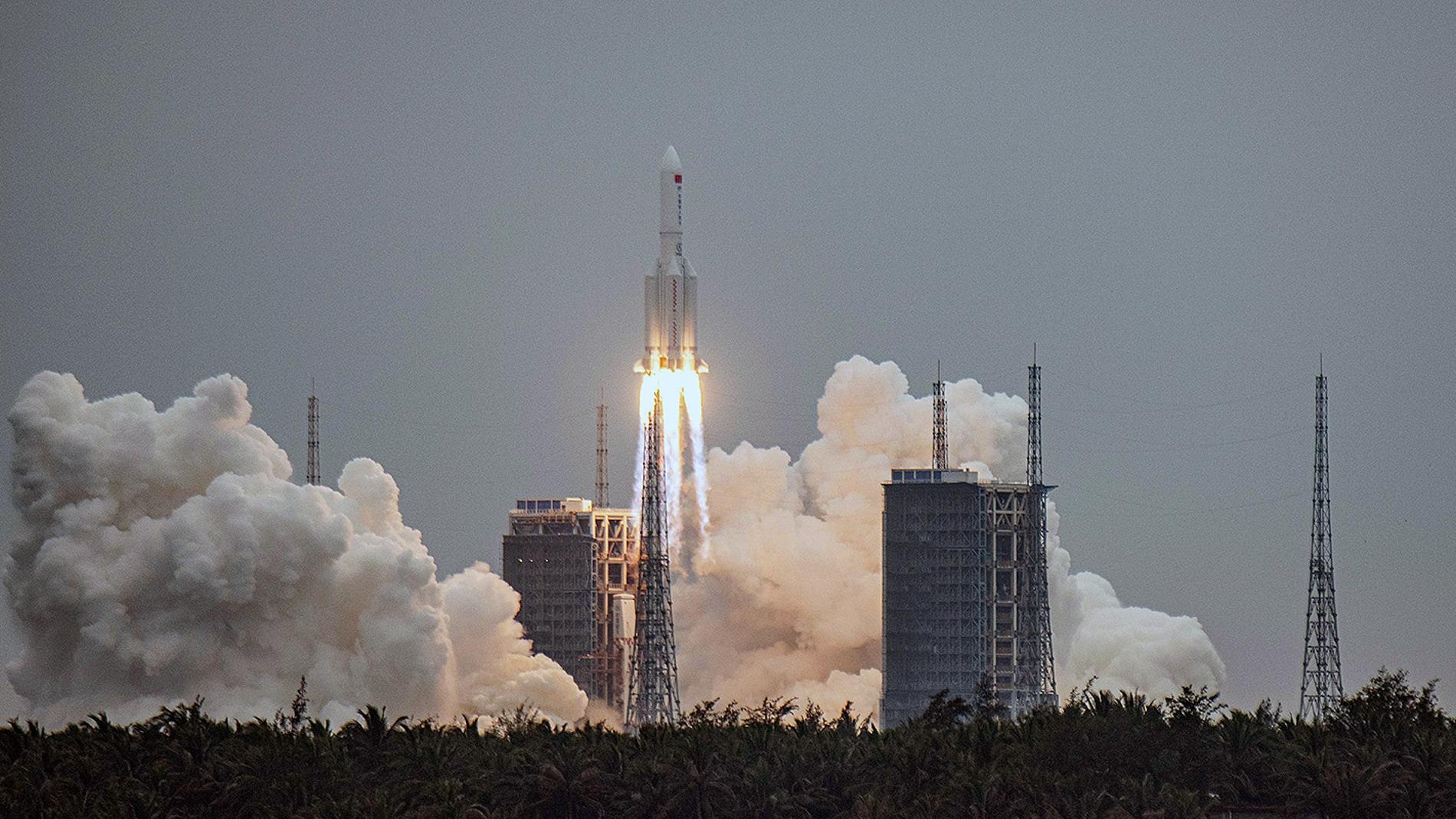 Espana se suma al seguimiento del cohete chino durante su caida a la Tierra este fin de semana