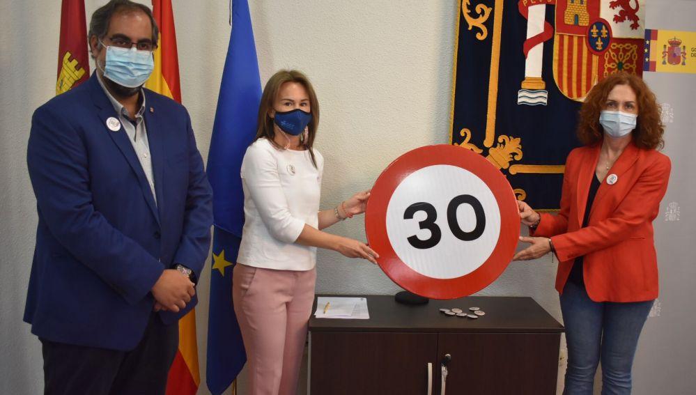 Presentación en Ciudad Real de los nuevos límites de velocidad.