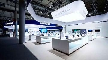Stand de Samsung en el MWC