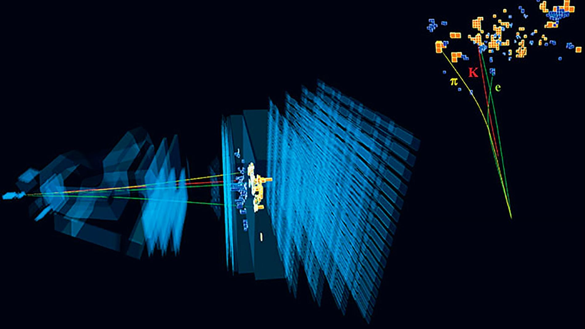 Intrigantes resultados del experimento LHCb del Laboratorio Europeo de Fisica de Particulas