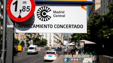 Madrid Central, suspendido tras el rechazo del Supremo al último recurso