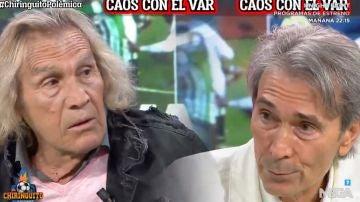Loco Gatti y Lobo Carrasco, cara a cara por el VAR