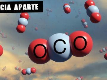 Esferas de dióxido de carbono como nubes