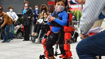 El exoesqueleto pediatrico del CSIC ya puede ser comercializado internacionalmente
