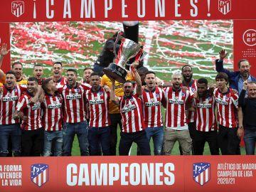El Atlético de Madrid recibe LaLiga en el Metropolitano