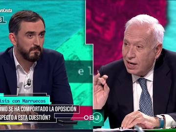 Rifirrafe entre Ignacio Escolar y José Manuel García-Margallo