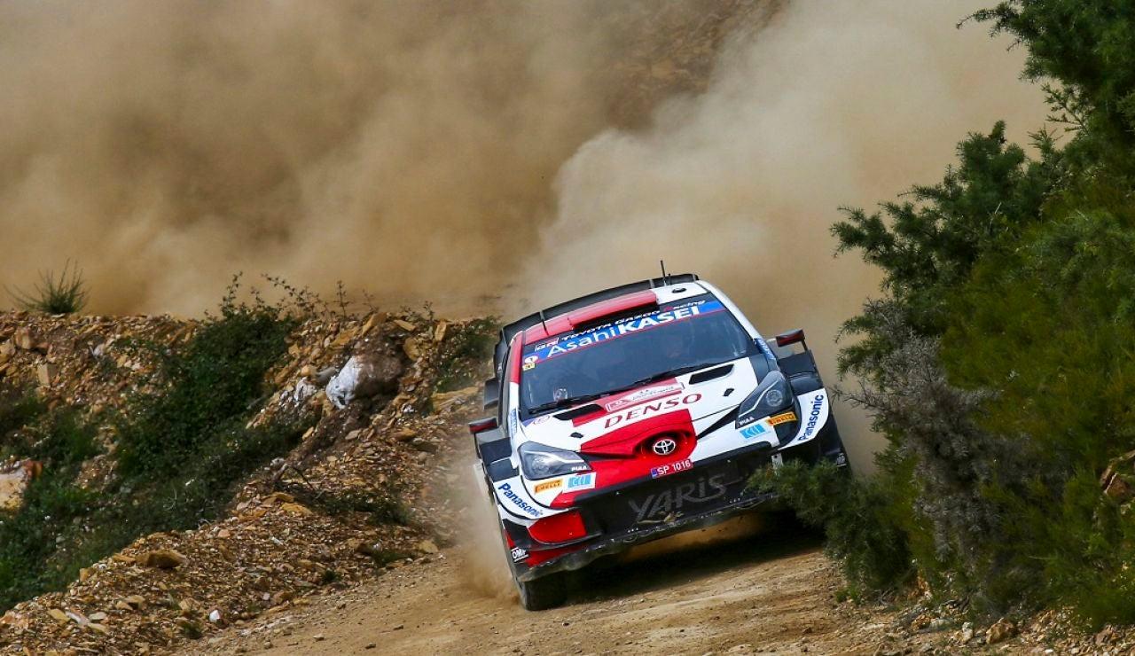Cuarto triunfo en el WRC de Evans
