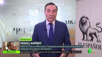 """Pedro J. Ramírez, sobre la salida de Iglesias de la política: """"El problema no es él, es Podemos"""""""