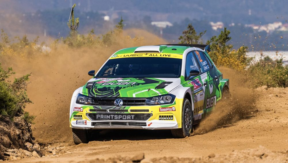 Lappi dominaba en WRC2