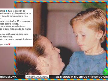 """Kiko Rivera felicita a su abuela con un dardo a Isabel Pantoja: """"Siento no poder estar contigo, pero la vida es complicada"""""""