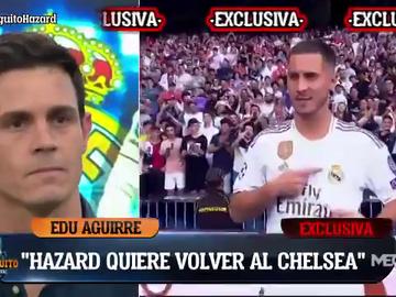 """Exclusiva de Edu Aguirre: """"Hazard quiere irse del Real Madrid"""""""