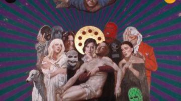 Pietà, de la pintora Silvia Flechoso