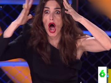 La divertida reacción de Paz Vega, Javier Ambrosio, Javier Calvo y José Mota al descubrir la famosa internacional tras la Menina de Mask Singer
