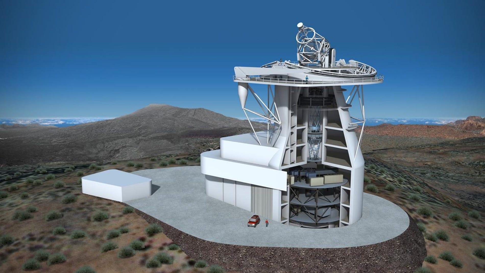 Telescopio Solar Europeo en Canarias