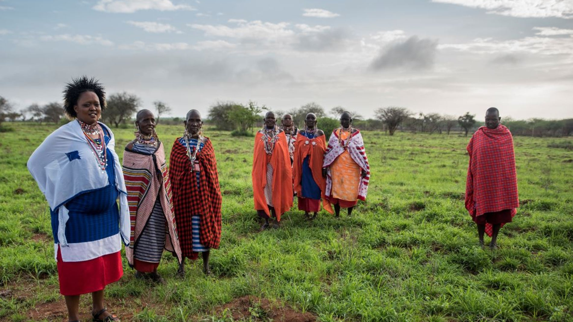 Mujeres masai en Kenia