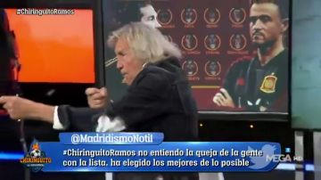 """'Loco' Gatti, desatado en 'El Chiringuito': """"España le tiene envidia al Real Madrid"""""""