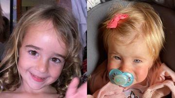 Anna y Olivia, las niñas de Tenerife