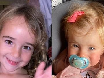 Nueva imagen de Anna y Olivia, las niñas desaparecidas en Tenerife