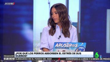 El irónico 'zasca' de Alfonso Arús a Patricia Benítez que hace reír a los colaboradores de Aruser@s