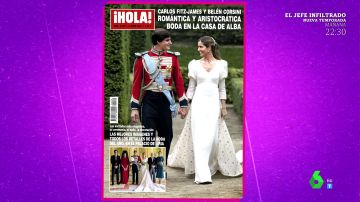Carlos Fitz-James Stuart y Belén Corsini: así ha sido su espectacular boda aristocrática con 300 invitados