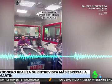 Cruce de 'dardos' entre Sara Carbonero y Vanesa Martín sobre sus partidos de pádel