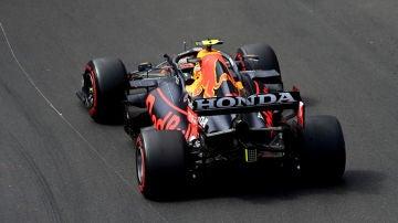 El Red Bull de Sergio Pérez