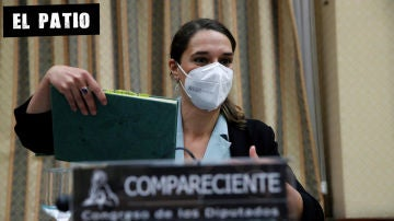 Noelia Vera en la comisión de Igualdad del Congreso