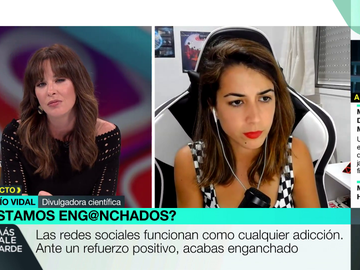 """El consejo de Rocío Vidal para desconectar de las redes sociales: """"No coger el móvil a partir de cierta hora reporta beneficios positivos"""""""