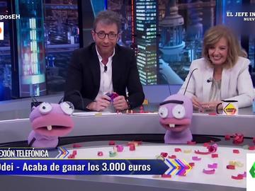 La impasible reacción de un hombre tras ganar 3.000 euros en El Hormiguero: