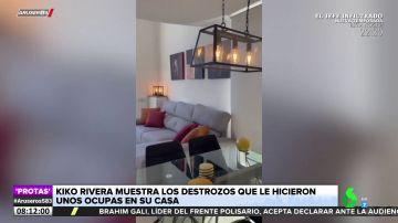 Las imágenes del piso que vende Kiko Rivera: 80 metros en tres plantas con cocina americana y solárium